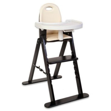 Svan Baby-to-Booster Bentwood High Chair (Espresso Almond)