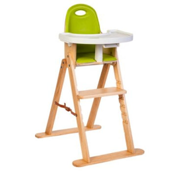 Svan Baby-to-Booster Bentwood High Chair (Natural Lime)