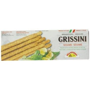 Granforno Grissini Breadsticks, Sesame, 4.4-Ounce Boxes (Pack of 12)