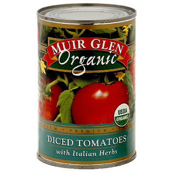 Muir Glen Diced Tomatoes With Italian Herbs
