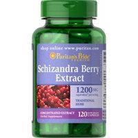 Puritan's Pride Schizandra Berry Extract 300mg-120 Capsules