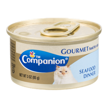 Companion Gourmet Food for Cats Seafood Dinner 3 OZ
