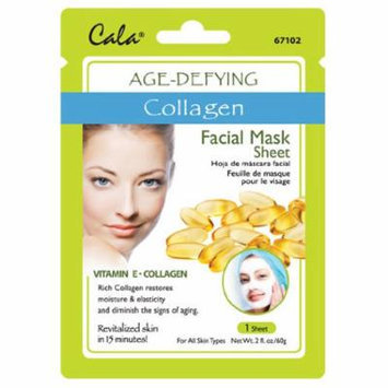 Cala Collagen Extract Facial Mask Sheet Age-Defying - 67102