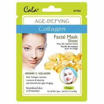 Cala Collagen Extract Facial Mask Sheet Age-Defying - 67102