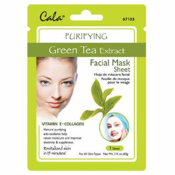 Cala Green Tea Extract Facial Mask Sheet Purifying - 67103