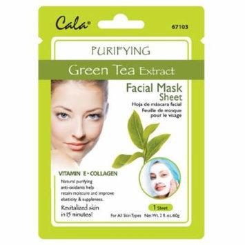 Cala Green Tea Extract Facial Mask Sheet Purifying - 67103