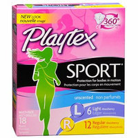 Playtex Sport Tampons with Plastic Applicators Unscented Multipack