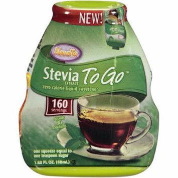 Nevella Stevia to Go Liquid Sweetner, 1.68 oz. (160 Servings) (Pack of 3)