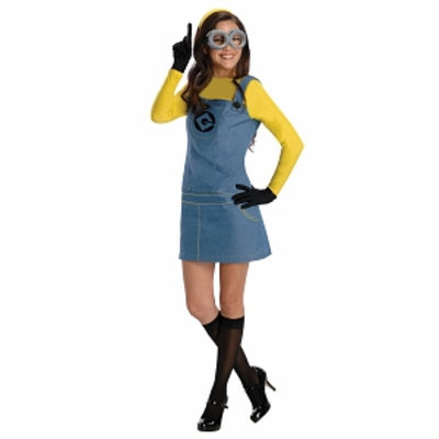 Rubies Costume Co Women's Despicable Me 2 Lady Minion Costume