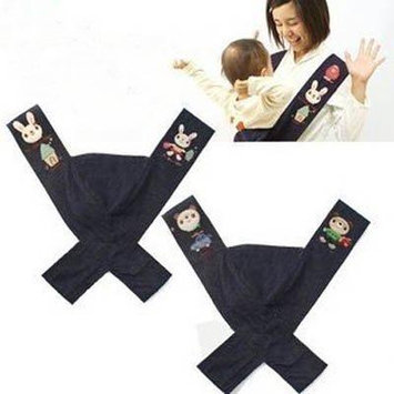 New Baby Front Carrier X Style decompress Sling Cotton Canvas Embroidery ETPJ083