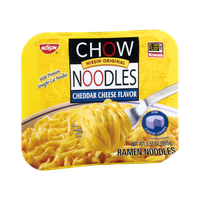 Nissin Chow Noodles Cheddar Cheese Flavor Ramen