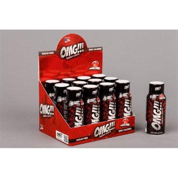 PowerSport OMG Energy Shots 2 oz. Yummy Berry case of 12