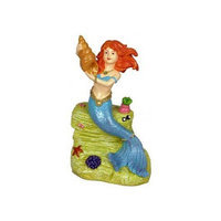 Blue Ribbon Pet Products Resin Ornament - Mermaid With Sea Shell