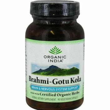 Organic India Brahmi-Gotu Kola 90 Vegetarian Capsules
