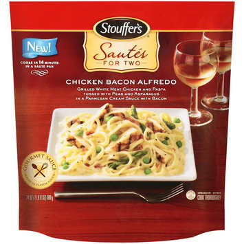 Stouffer's Sautes For Two Chicken Bacon Alfredo Entree