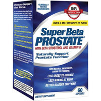 Super Beta Prostate Dietary Supplement Softgels, 60 count