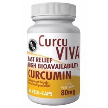 CurcuViva (60 Veggie Caps) Curcumin Turmeric Brand: A.O.R Advanced Orthomolecular Research