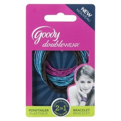 Goody Doublewear Goody Double Wear 2 in 1 Ponytailer and Bracelete Multiple Color