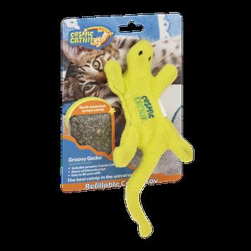 Cosmic Catnip Refillable Catnip Toy Groovy Gecko