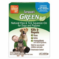 Sergeant's Green Dog Flea & Tick Sqz-On