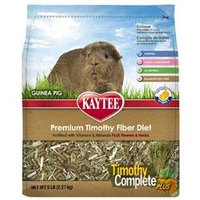 Kaytee Products Inc - Timothy Complete plus Flowers & Herbs Guinea Pig Food 5 Pound