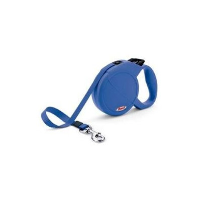Flexi Durabelt Retractable Dog Leash in Blue, Small