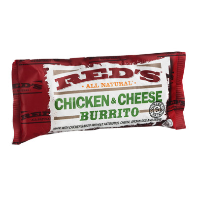 Red's All Natural Chicken & Cheese Burrito