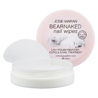 Josie Maran Bear Naked Nail Wipes