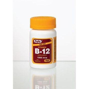 Vitamin B-12 Tablets, 1000mcg, 100ct
