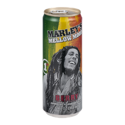 Marley's Mellow Mood Sparkling Relaxation Drink Berry