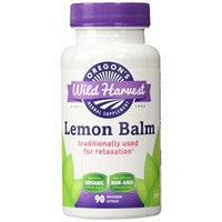 Oregon's Wild Harvest Lemon Balm Organic Supplement, 90 Count, 90 Fluid Ounce