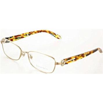 TIFFANY Eyeglasses TF 1061B 6053 Pale Gold 54MM