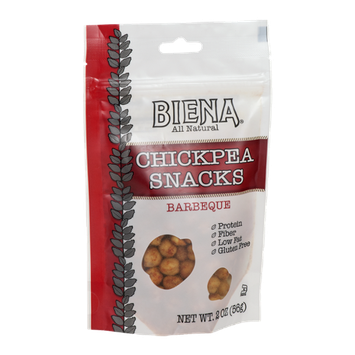 Biena Chickpea Snacks Barbeque