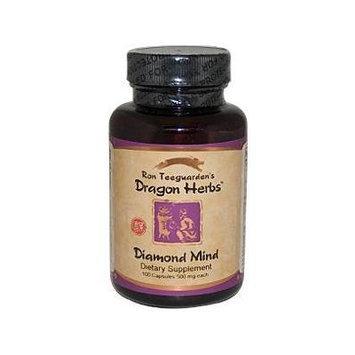 Dragon Herbs Diamond Mind -- 100 Vegetarian Capsules