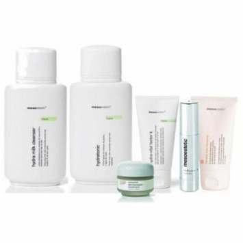 Dermamelan Maintenance Cream by Mesoestetic -Includes Milk Cleanser,Toner,Hydra Vital K,Sunblock,Radiance Eye Contour