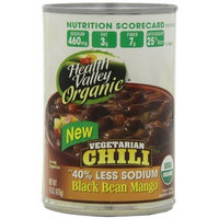 Health Valley Organic Chili Black Bean Mango, 15 Ounce Cans (Pack of 12)