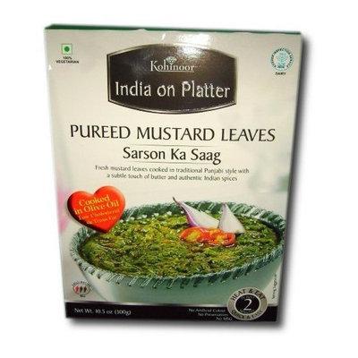 Kohinoor - India on Platter - Sarson Ka Saag (Pureed Mustard Leaves) Ready-To-Eat [30 PACK]