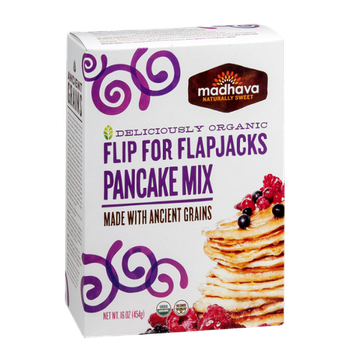 Madhava Organic Flip for Flapjacks Pancake Mix