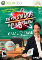 THQ Are you Smarter Than A 5th Grader? Game Time
