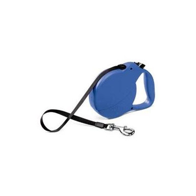 Flexi Explore Retractable Dog Leash in Blue, Large