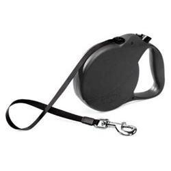 Flexi Explore Retractable Dog Leash in Black, Large