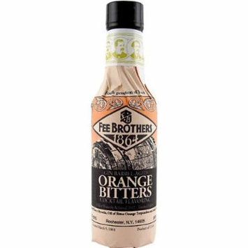 Fee Brothers Gin Barrel-Aged Orange Bitters 5oz