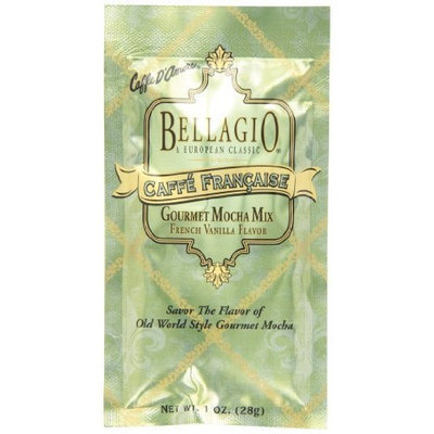 Bellagio Caffe Francaise Gourmet Mocha Mix, 1-Ounce Packets (Pack of 25)