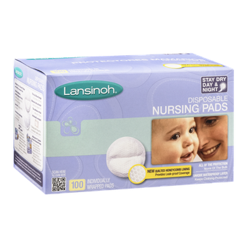 Lansinoh Disposable Nursing Pads - 100 CT