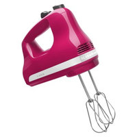 KitchenAid 5-Speed Hand Mixer - Flamingo KHM512