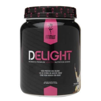 FitMiss Delight Women's Premium Healthy Nutrition Shake, Vanilla Chai, 1.13 lbs