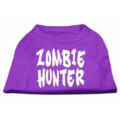Mirage Pet Products 51-99 XSPR Zombie Hunter Screen Print Shirt Purple XS - 8