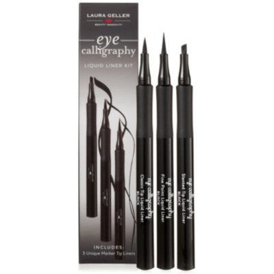 Laura Geller Beauty Eye Calligraphy Liquid Eyeliner Trio