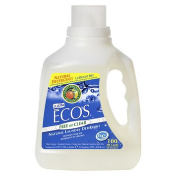 ECOS Free and Clear Natural Liquid Laundry Detergent 100 oz