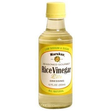 Marukan Seasoned Gourmet Rice Vinegar Lite, 12-Ounce Bottle (Pack of 3)